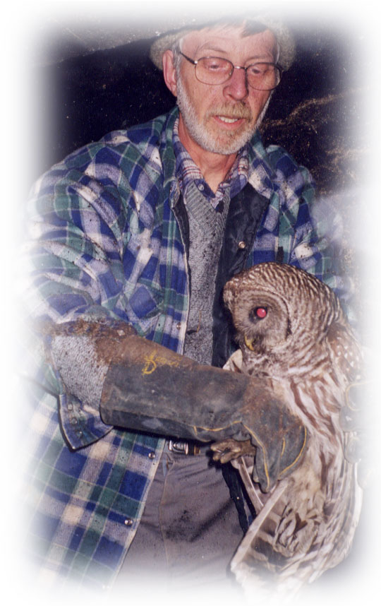Clint with Owl